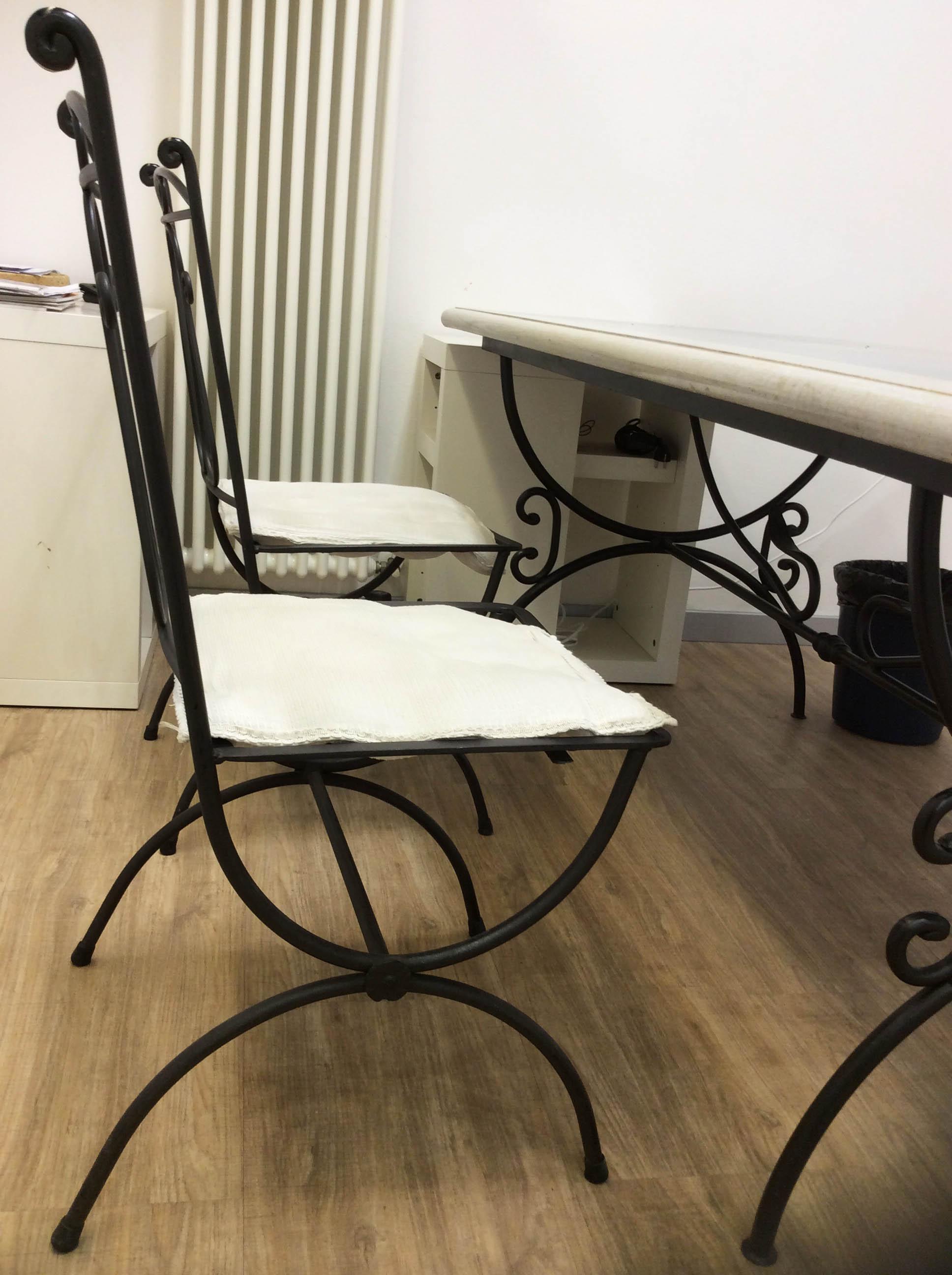 good ideale per ambienti interni ed esterni prodotto piana duappoggio in cemento colorato e graniglia la decorazione del tavolo with se ferro