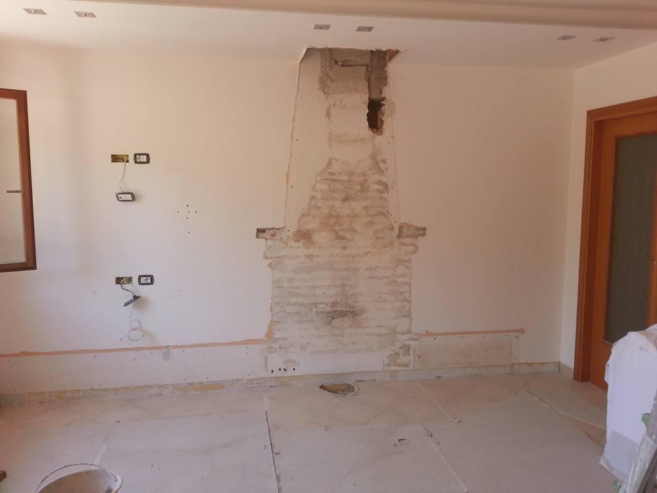 Camino trifacciale con complemento in cemento 4